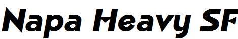 Napa-Heavy-SF-Bold-Italic