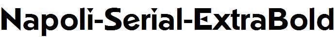 Napoli-Serial-ExtraBold-Regular