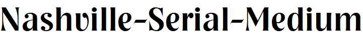 Nashville-Serial-Medium-Regular