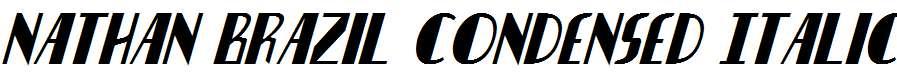 Nathan-Brazil-Condensed-Italic