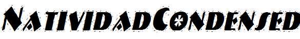 NatividadCondensed-Italic