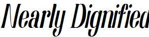 Nearly-Dignified-Light-Italic