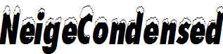 NeigeCondensed