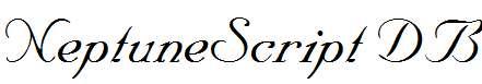 NeptuneScript-Regular-DB