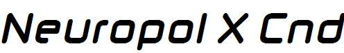 Neuropol-X-Cnd-Bold-Italic