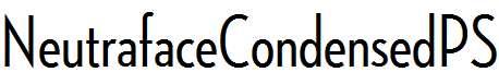 NeutrafaceCondensedPS-Medium