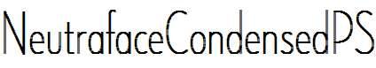 NeutrafaceCondensedPS-ThinAlt