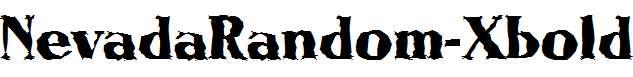 NevadaRandom-Xbold-Regular