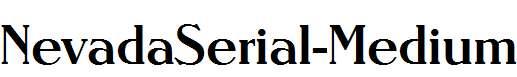 NevadaSerial-Medium-Regular