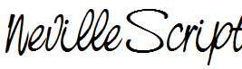 NevilleScript-Italic