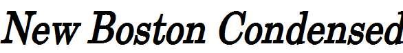 New-Boston-Condensed-Bold-Italic