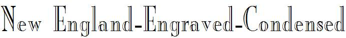New-England-Engraved-Condensed-Normal
