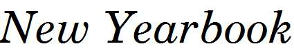 New-Yearbook-Italic