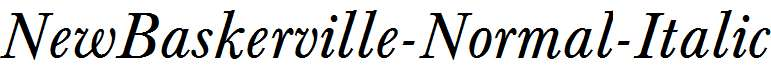 NewBaskerville-Normal-Italic