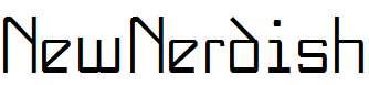 NewNerdish-Plain