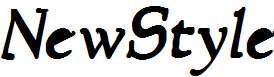 NewStyle-Bold-Italic