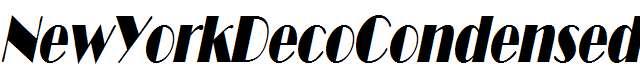 NewYorkDecoCondensed-Oblique