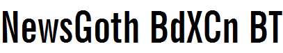 News-Gothic-Bold-Extra-Condensed-BT