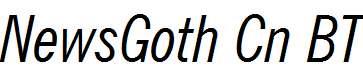 News-Gothic-Condensed-Italic-BT