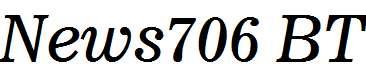 News706-BT-Italic