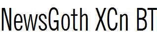 NewsGoth-XCn-BT