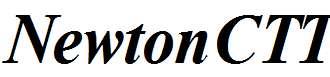 NewtonCTT-BoldItalic