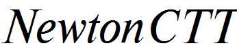 NewtonCTT-Italic