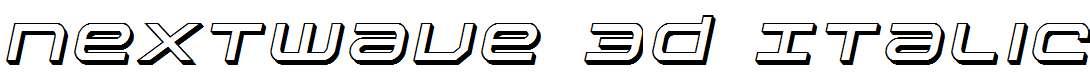 Nextwave-3D-Italic