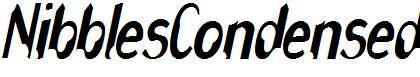 NibblesCondensed-Oblique