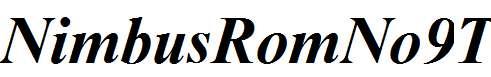 NimbusRomNo9T-Bold-Italic