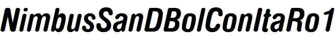 NimbusSanDBolConItaRo1