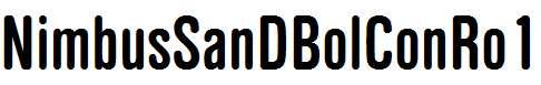 NimbusSanDBolConRo1