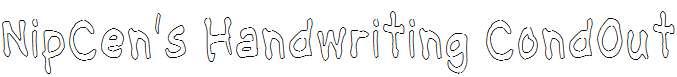 NipCen-s-Handwriting-CondOut