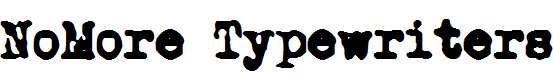 NoMore-Typewriters