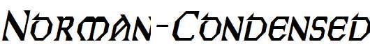 Norman-Condensed-Italic