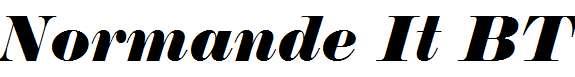Normande-It-BT-Italic