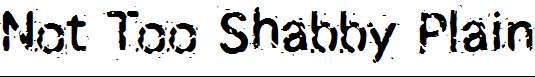 Not-Too-Shabby-Plain