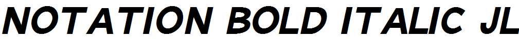 Notation-Bold-Italic-JL