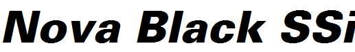 Nova-Black-SSi-Extra-Bold-Italic