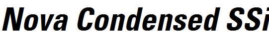 Nova-Condensed-SSi-Bold-Condensed-Italic