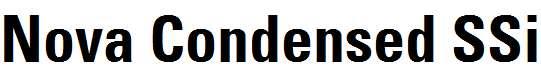 Nova-Condensed-SSi-Bold-Condensed