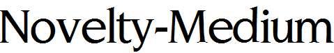 Novelty-Medium-Regular