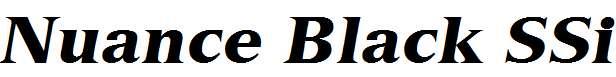 Nuance-Black-SSi-Black-Italic