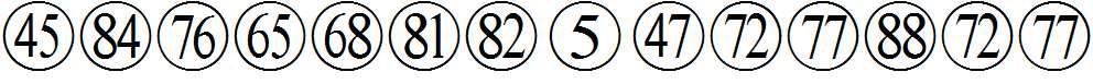 Numbers-Pinyin