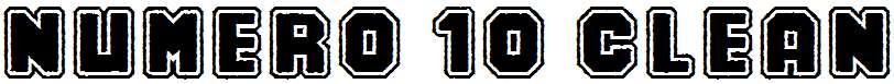 Numero-10-Clean