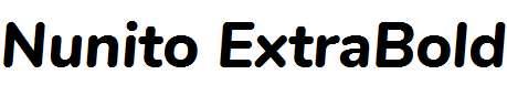 Nunito-ExtraBold-Italic