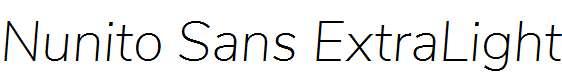 Nunito-Sans-ExtraLight-Italic