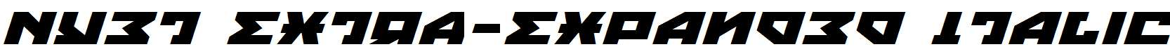 Nyet-Extra-Expanded-Italic