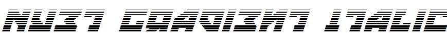 Nyet-Gradient-Italic