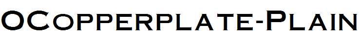 OCopperplate-Plain